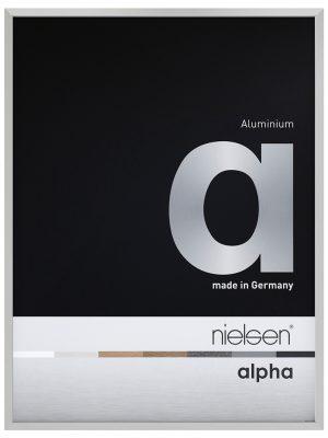 Cadre Standard Nielsen Alpha Argent mat
